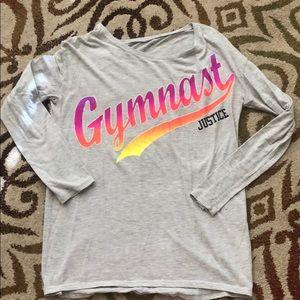 Justice Gymnast Long Sleeve Top